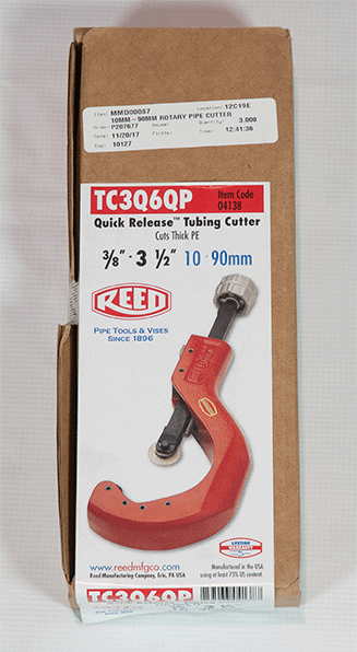 10mm-90mm rotary pipe cutter